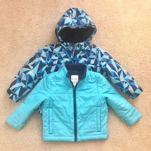 Size 2T Snow Coat With Removable Lining
